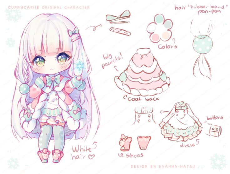 Sketch Chibi Reference Sheet Commission For BlueBri I Really Enjoy Drawing Sheets They Are Happy To Draw Even More Style