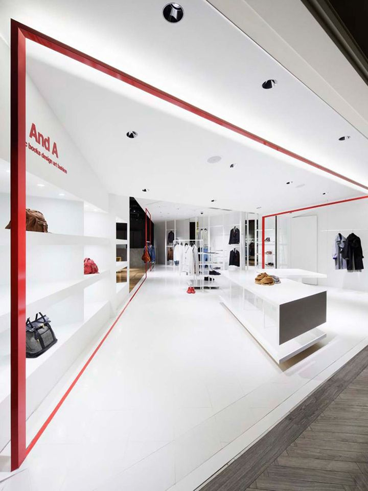 And A shop by Moment Design, Yokohama store design