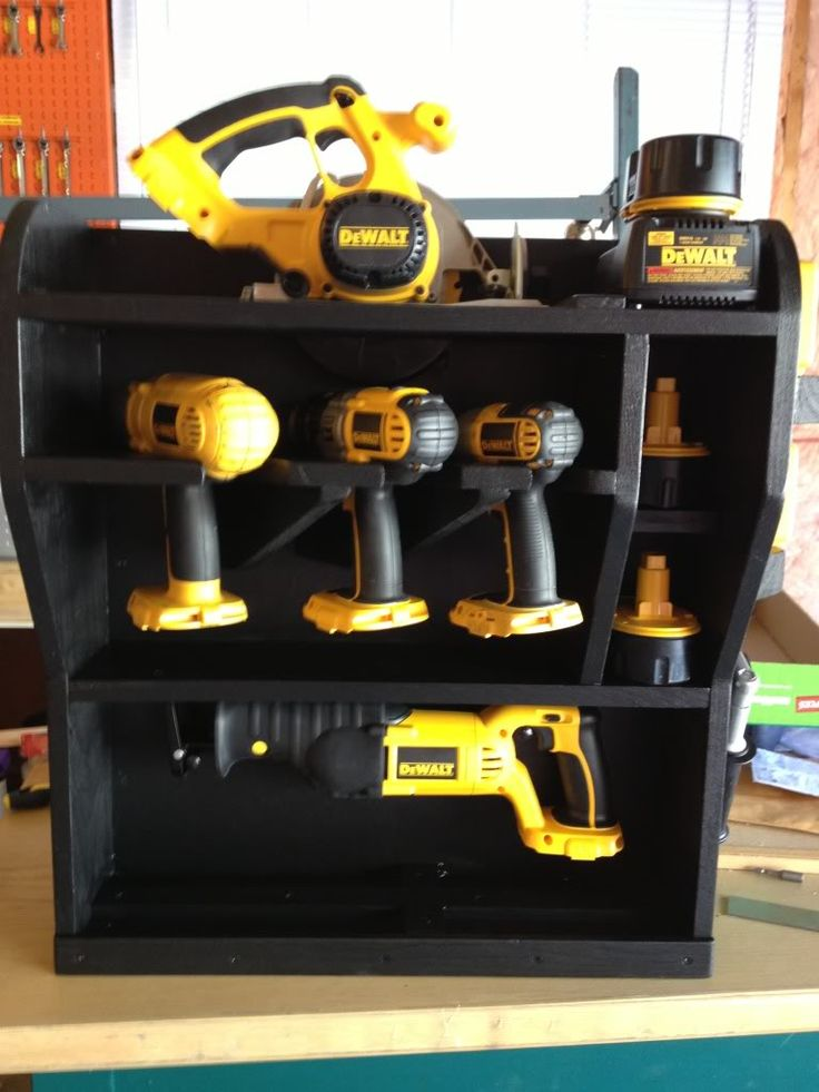 Cordless tool storage - Shop, Garage and Tools - Mopar Forum