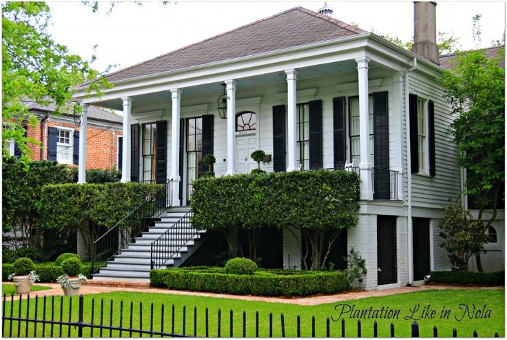Old New Orleans Names   New Orleans Homes and Neighborhoods » New Orleans Homes, Plantation ...