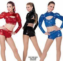 2016 de la venta directa niños Elsa trajes de baile de Jazz para las niñas niño traje de Ballet femenino vestido de baile latino del funcionamiento de la ropa(China (Mainland))