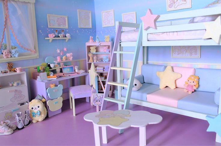 "sanrio1998: "" Little Twin Stars Room!!! """