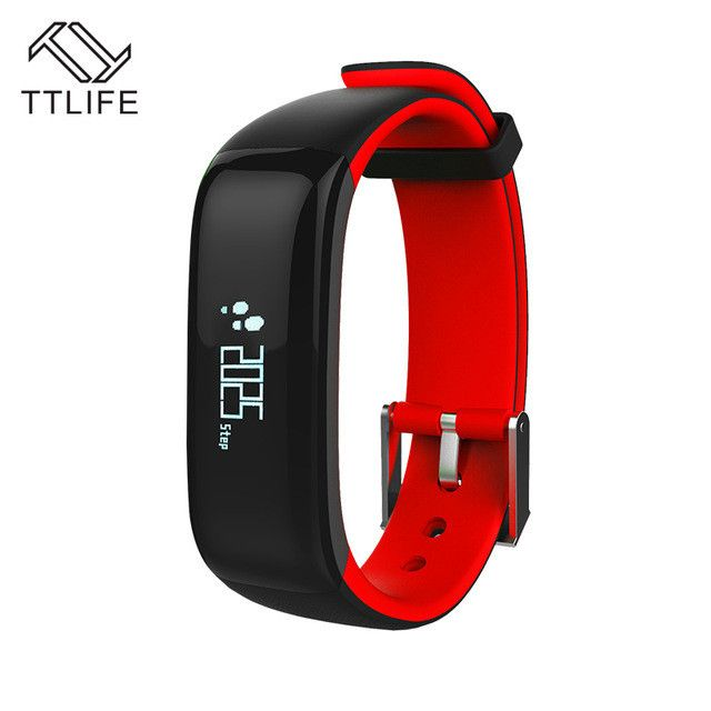 Bluetooth 4.0 Smart Wristband Blood Pressure Monitor Wearable Heart Rate Monitor Smart Bracelet