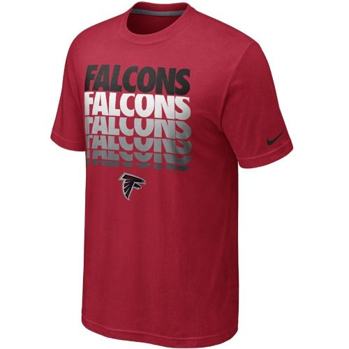OfficialFalconsgear.com - Atlanta Falcons Blockbuster Red Tee - Official Falcons Gear