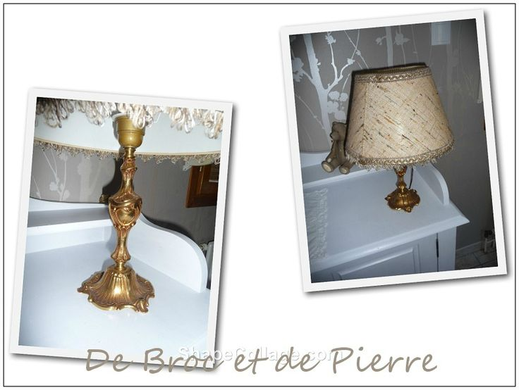 Relooking petite lampe...