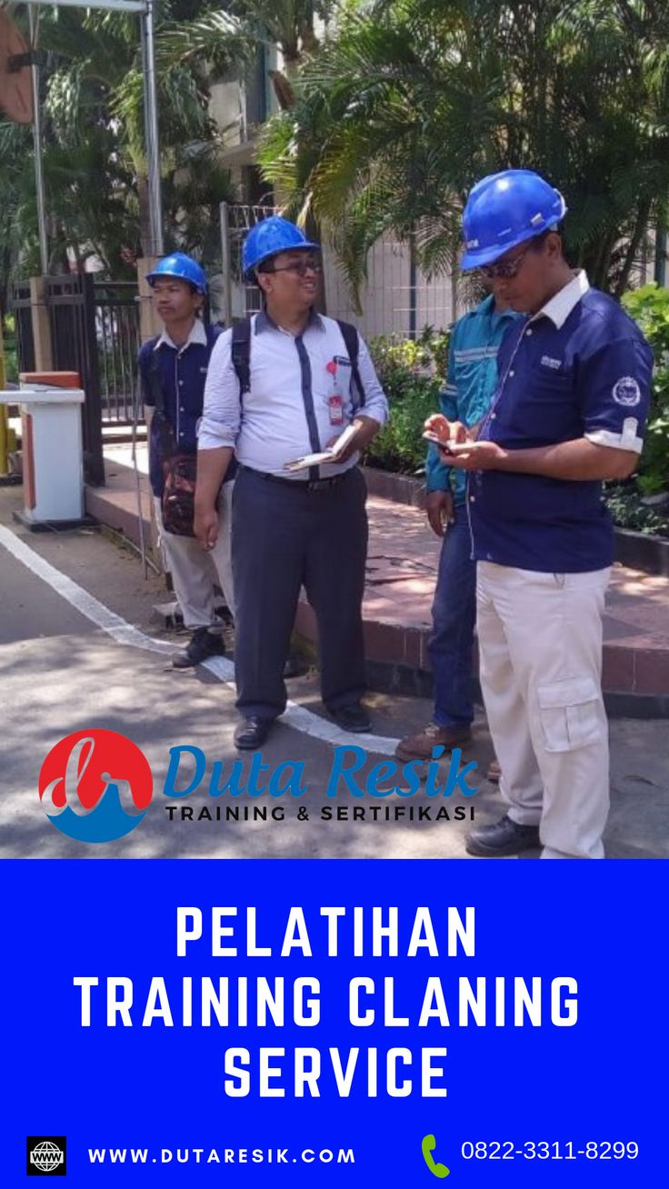 Training cleaning service, training poles lantai, training