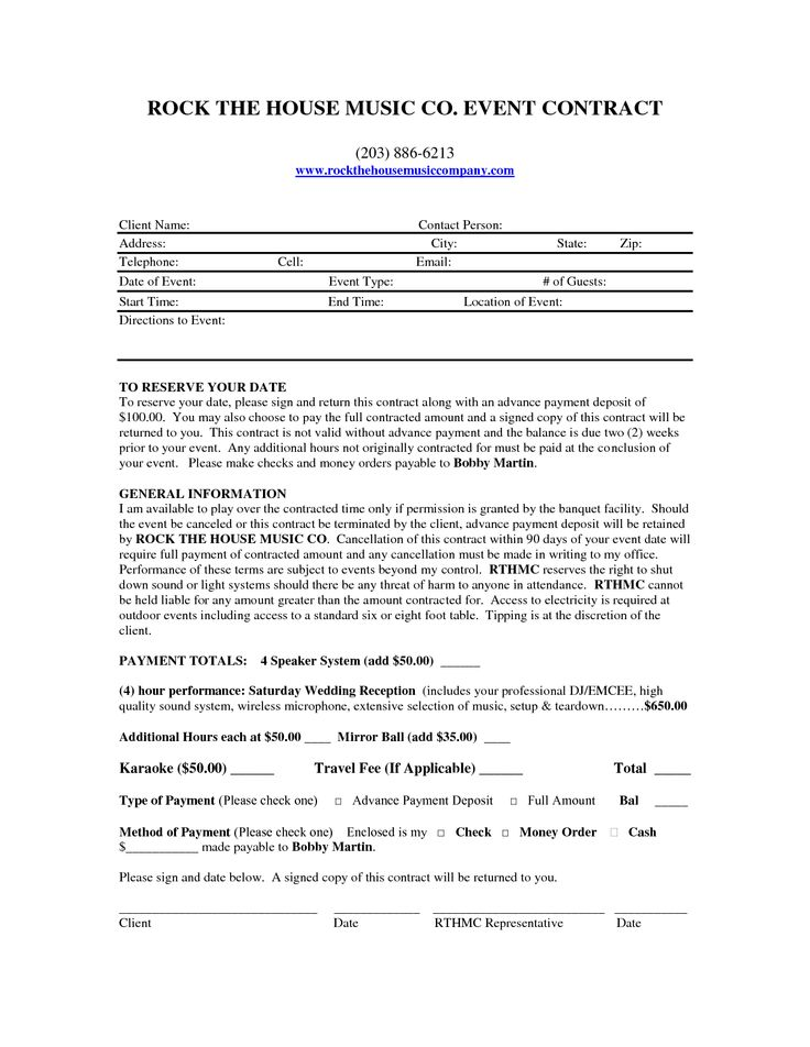 dj booking contract template - mobile dj contract dj contract places to visit