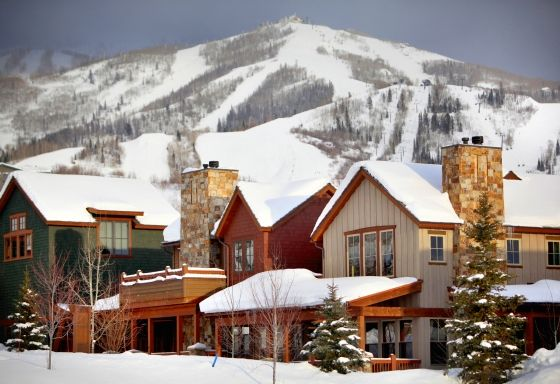 The Porches- Steamboat Springs, CO    #Travel #Ski   www.NextGreatPlace.com