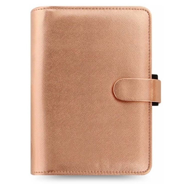Make this Saffiano Personal metallic leather look organiser you new fashion accessory for 2017with its on-trend metallic rose gold finish. The organiser features a slim construction with visible top stitching and a PU strap with concealed popper closure. | eBay!