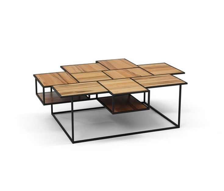 Decorative wooden coffee table ideas with rectangular with for Modern wooden coffee tables
