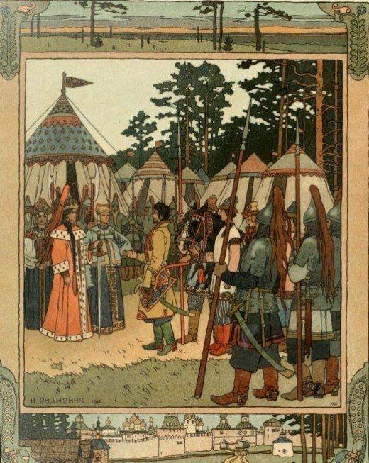 Ivan Bilibin: Illustrating the Russian Folk Tales