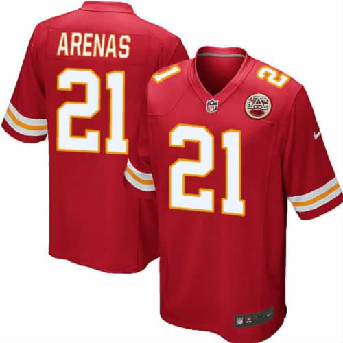Javier Arenas Jersey Kansas City Chiefs #21 Youth Red Limited Jersey Nike NFL Jersey Sale