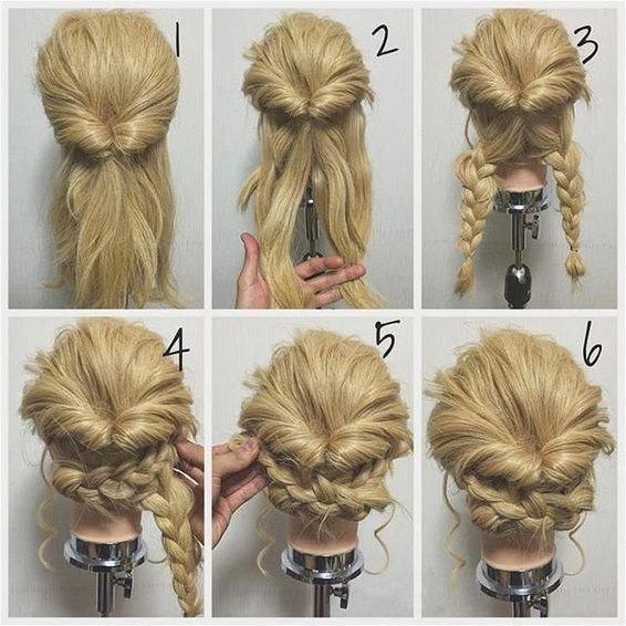 11 Easy Step by Step Updo Tutorials for Beginners 2017 Hair Wrap Tre