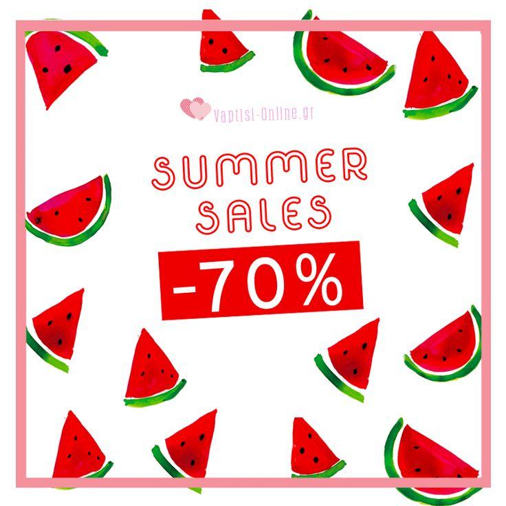 ✴️ Σας Δροσίζουμε μέσα στον Καύσωνα με τις Χαμηλότερες τιμές!!! 🌞 Sales έως 70% !!!! Προλάβετε τα εδώ: http://www.vaptisi-online.gr