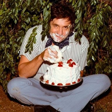 Ah I finally found this photo of Johnny Cash.