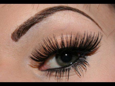 WSITN: False Eyelashes Tutorial  best false eyelash application tutorial ever