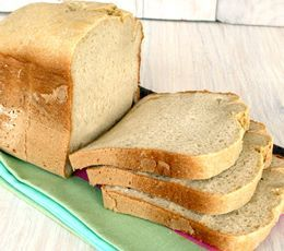 Pan Exprés en Panificadora - receta sin gluten - Schär