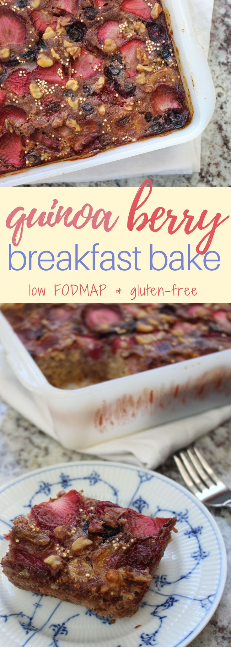 High protein and fibre breakfast that will keep you full until lunch! Safe for the low FODMAP diet and gluten free.