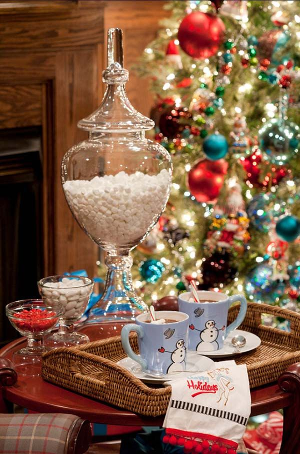 50 Christmas decorated interiors for a winter