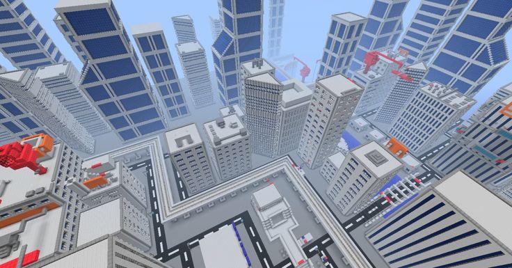 minecraft parkour maps   Mirrors Edge – Big Parkour map   Minecraft Maps Download