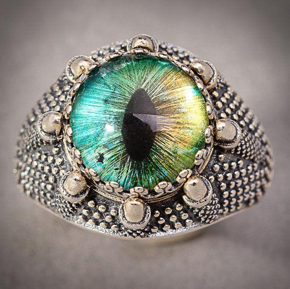 Dragon Eye Ring Evil Eye Ring Dragon Claw Ring Dragons Eye