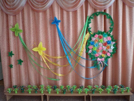 Пышный букетик для мамочки: просто и красиво - Для воспитателей детских садов - Маам.ру