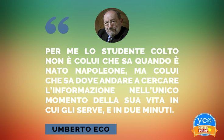 Cultura secondo Umberto Eco