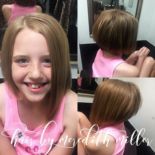 This Kid Loves Her New Asymmetrical Haircut Turned Out So Cute