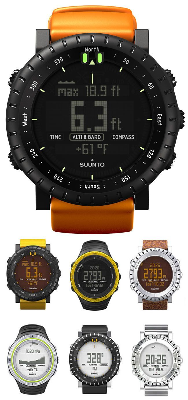 Suunto watch. In a never ending battle with its nemesis the G-Shock from Casio - titanium mens watches, cheap swiss watches, online watches for sale *sponsored https://www.pinterest.com/watches_watch/ https://www.pinterest.com/explore/watches/ https://www.pinterest.com/watches_watch/ladies-watches/ http://www.ashford.com/us/watches/mens/cat5001.cid