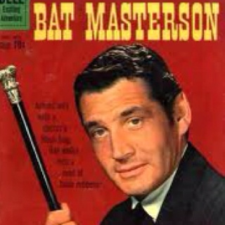 Gene Barry as Bat Masterson (TV Series 1958–1961)