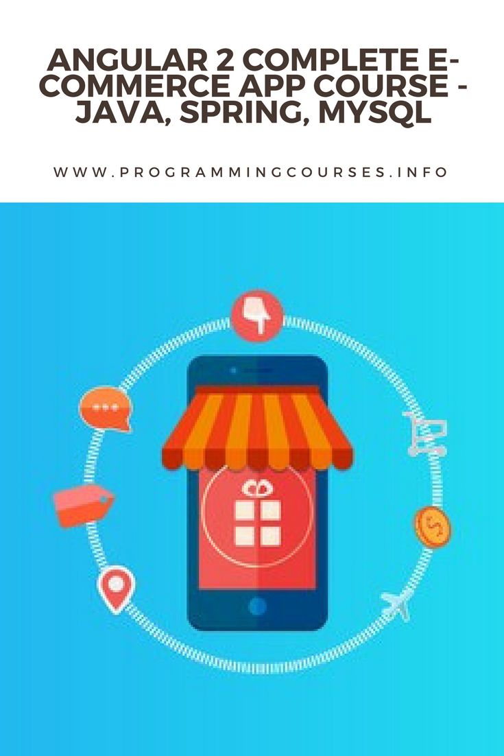 Angular 2 Complete E-Commerce App Course - Java, Spring, MySQL. A Comprehensive Project with Step-By-Step Guide on latest Angular 2 Ecosystem and Java Spring Framework Ecosystem. #angular #java #spring #mysql #framework