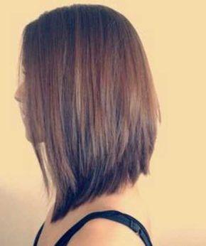 ms de ideas increbles sobre cortes de pelo medio largo de mujer en pinterest melena media escalonada largos peinados bob en ngulo y pgina de corte