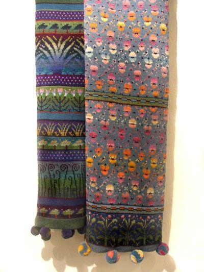 Design by Finnish textile artist Sirkka Könönen. Role model for me when studying knitting in early 90s.
