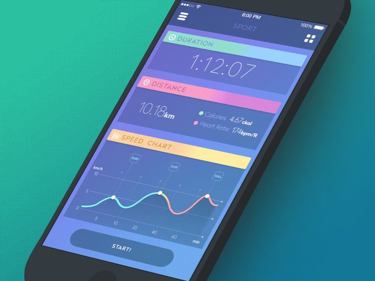Gif for the sport app dribbble 800x600