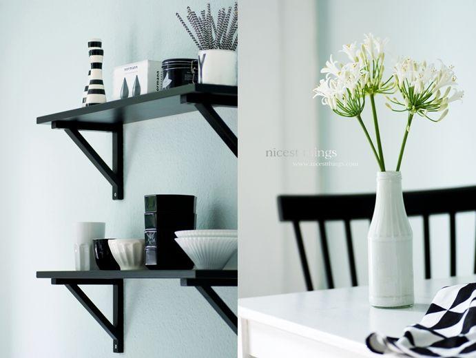 9 best black and white images on Pinterest Deko, Live and Spaces - designer kchen deko