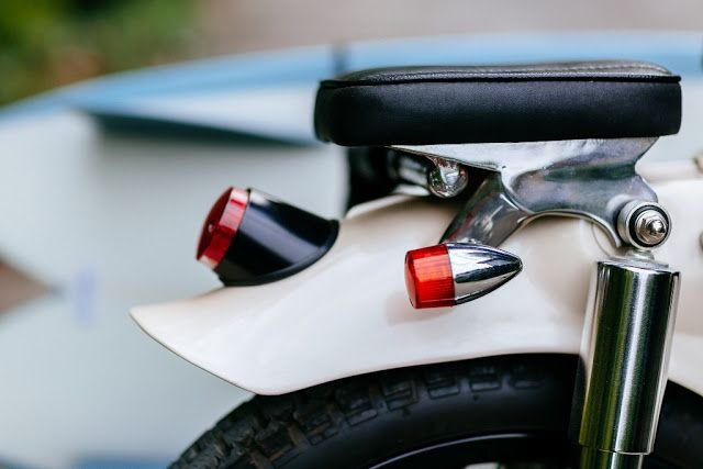 Deus Sea Sider: Honda C70 Surf Cub