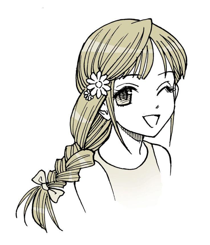 Anime Hair Manga Hair How To Draw Braided Hair Anime Hair Manga Hair How To Draw Braided Hair Anime Hai Manga Hair Anime Hair Braided Hairstyles
