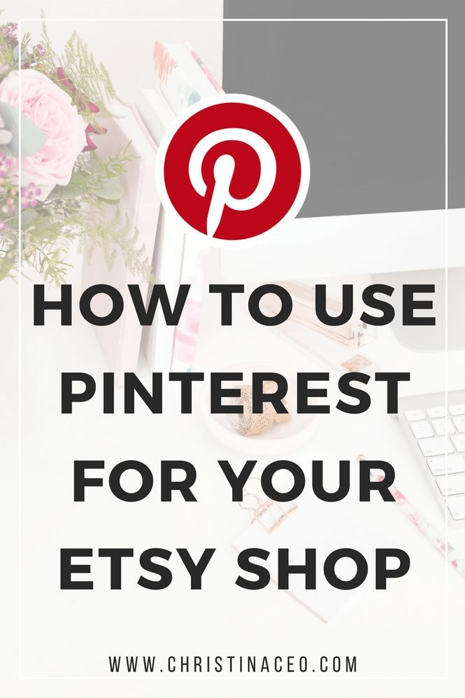 Pinterest is one of my top referrals when it comes to my Etsy shop. Have you considered using Pinterest for your Etsy business? It's free to use, so why not?! In this blog I give some awesome tips for using Pinterest for your Etsy shop.