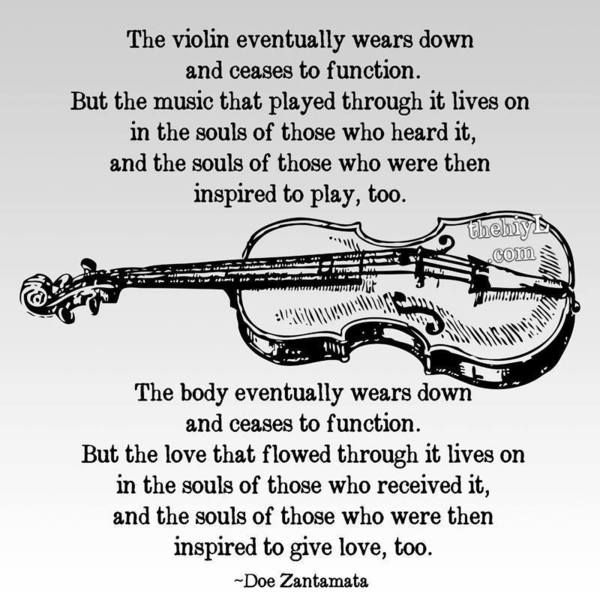 Music, like Love, Remains!>> this counts for any instrument, for me it's the Viola