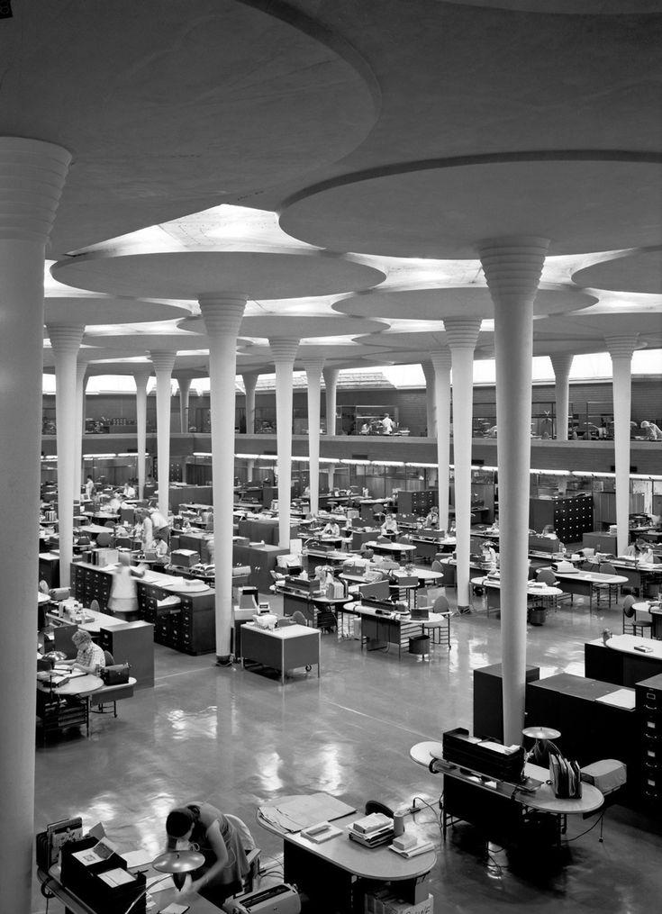 Frank Lloyd Wright | Johnson Wax HQ                                                                                                                                                                                 Más