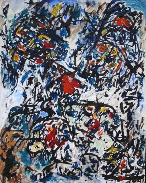 Asger Jorn - Advanced Anti Geometric Space, 1963, oil on canvas
