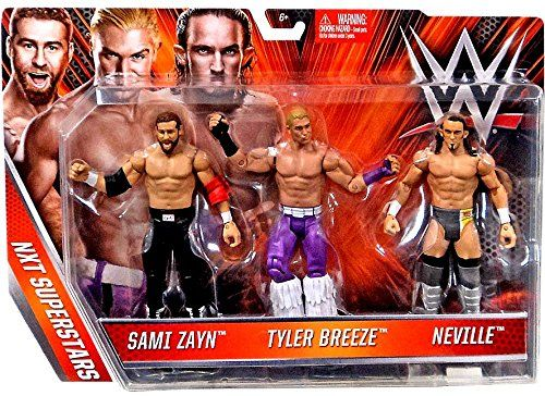 WWE NXT Superstars Sami Zayn, Tyler Breeze & Neville WWE https://www.amazon.com/dp/B01D24PVI6/ref=cm_sw_r_pi_dp_x_-ygYybHRQWDXC