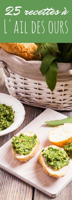 Pesto, brioches, pâtes : 25 recettes faciles à l'ail des ours (wild garlic) !