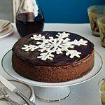 Chocolate Truffle Cheesecake Recipe   MyRecipes.com