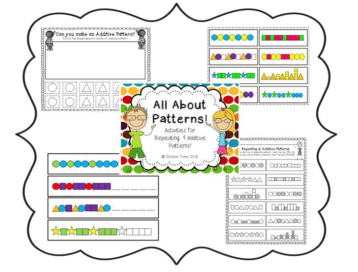 Repeating & Additive Pattern FREEBIE