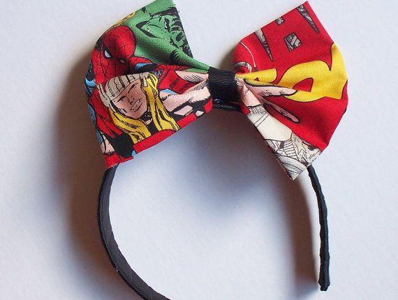 Marvel headband: Clermont Children, Bday Ideas, Headbands Chic, Etsy Stores, Children Joy, Baby, Geeky Diy, Diy Projects, Diy Superhero Headbands