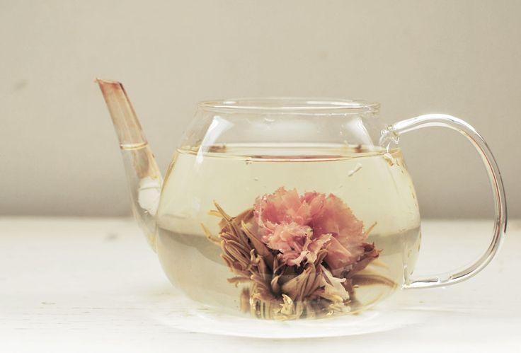 blooming rose tea | Clear glass teapot; €23, Teavivre . Teapot for flowering tea; €25 ...