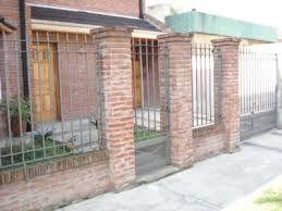 Resultado de imagen para rejas para casas madera hierro cemento