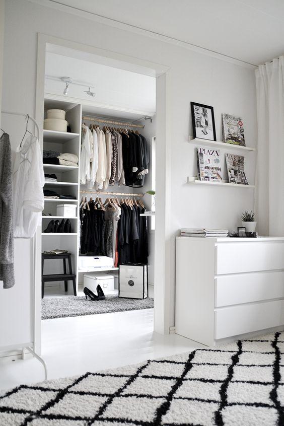 10 Dicas para limpar e organizar o closet