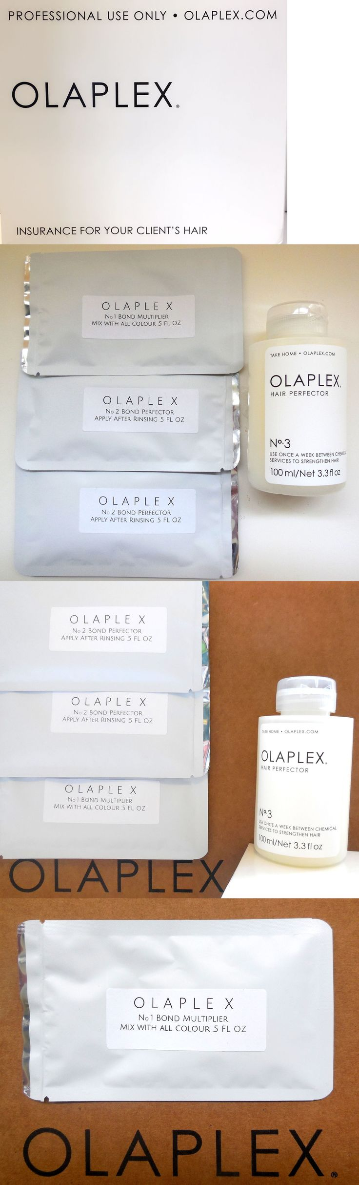 Hair Color: Olaplex Kit No. 1 No. 2 With Full Size No. 3 BUY IT NOW ONLY: $43.99